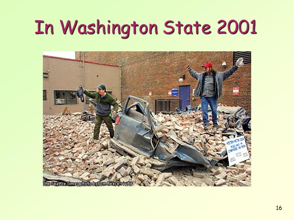 16 In Washington State 2001