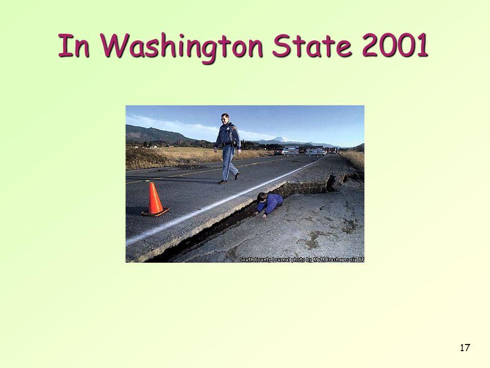 17 In Washington State 2001