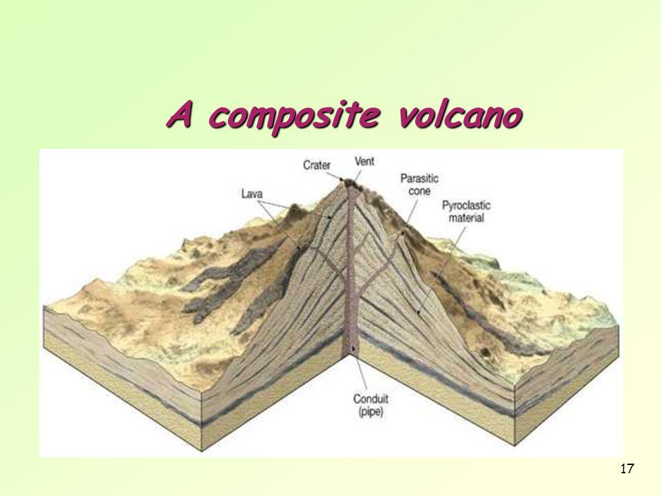 17 A composite volcano