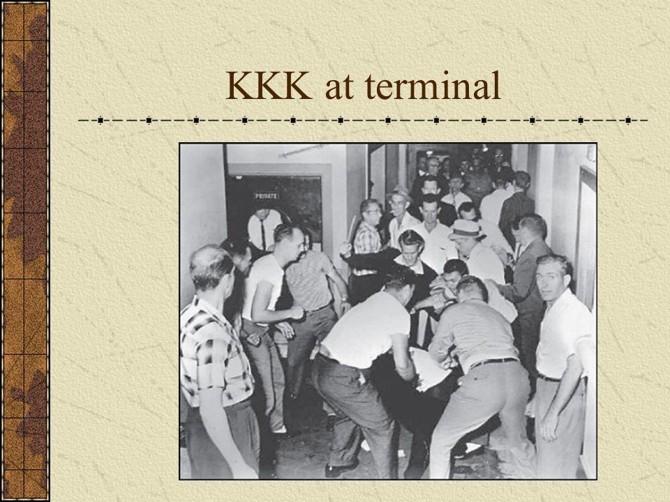 KKK at terminal
