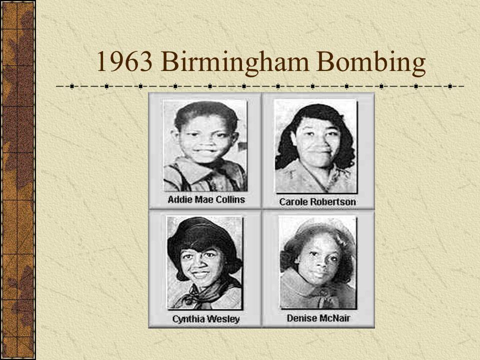 1963 Birmingham Bombing
