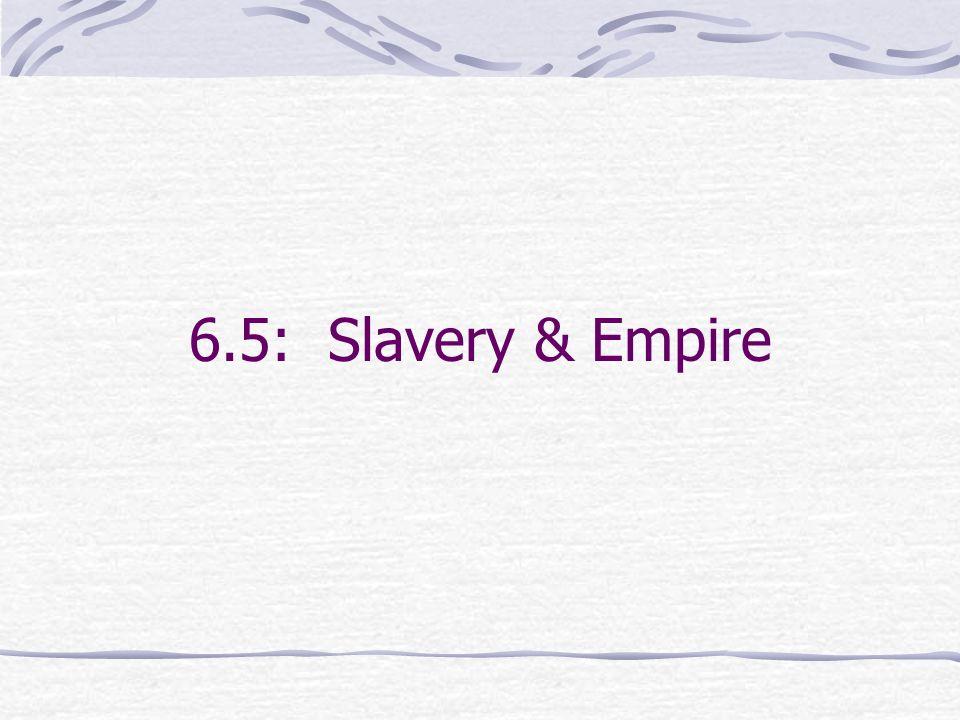 6.5: Slavery & Empire
