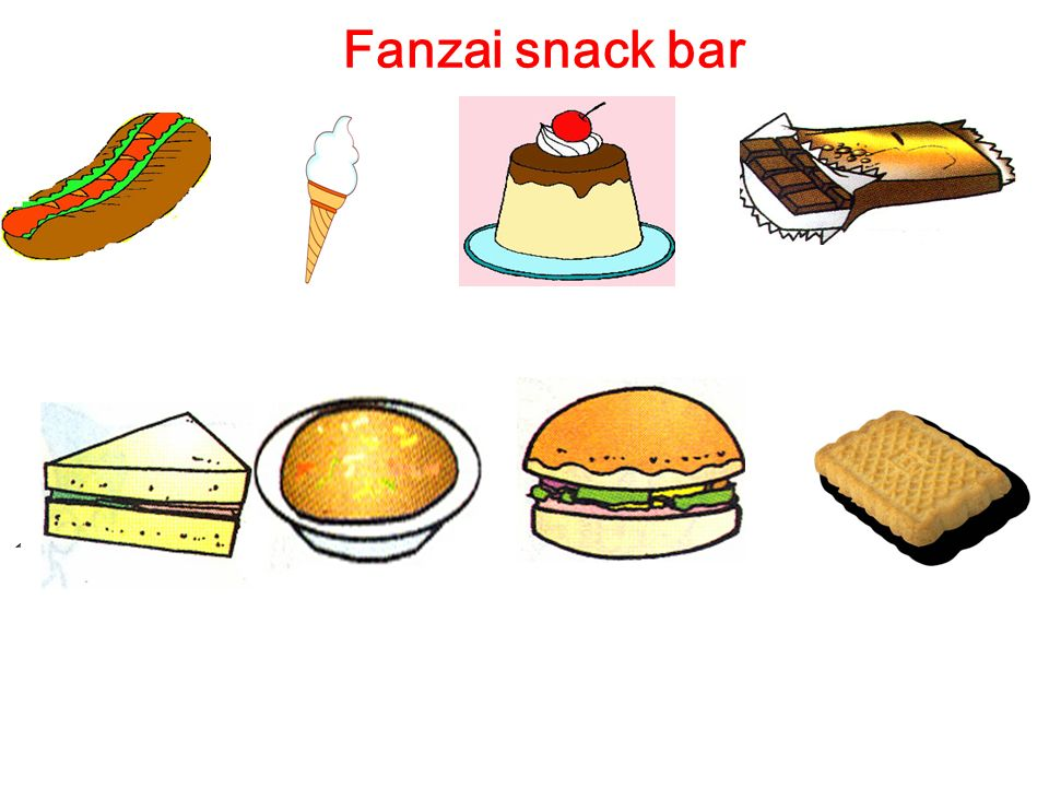 Fanzai snack bar