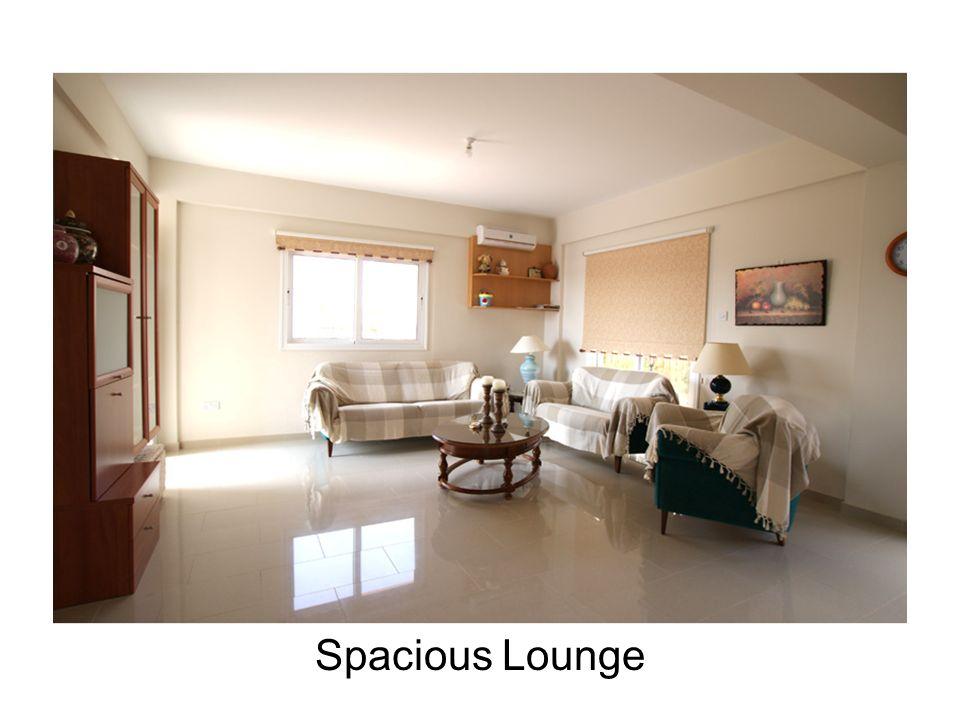 Spacious Lounge