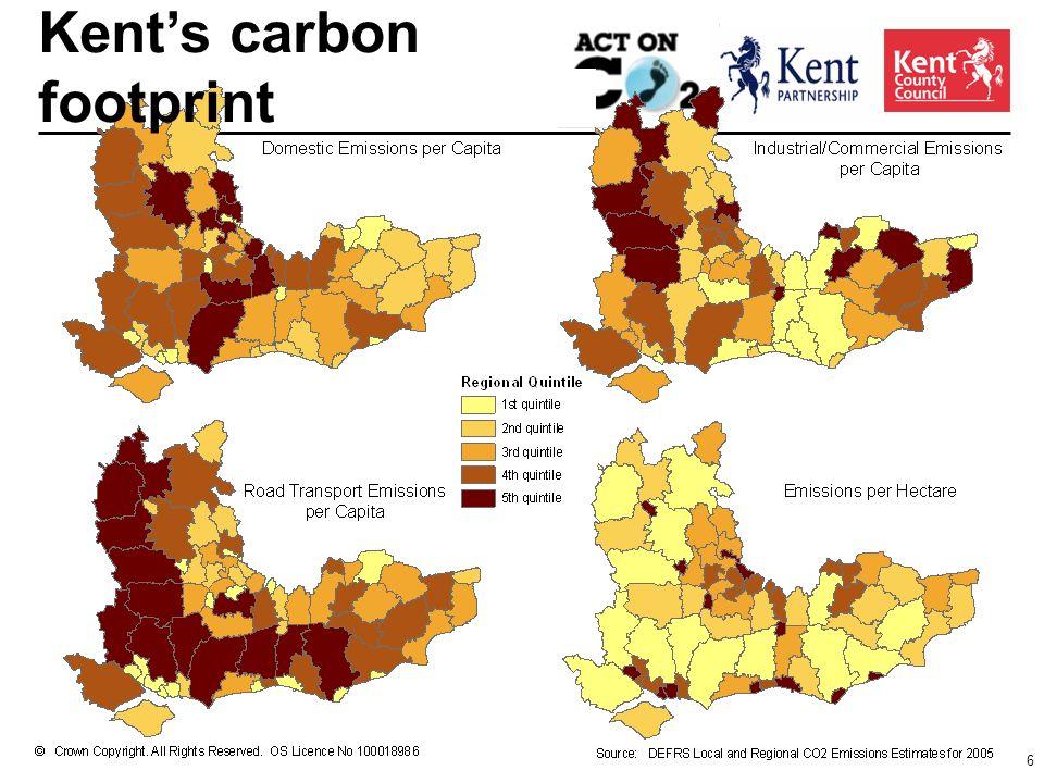 6 Kents carbon footprint