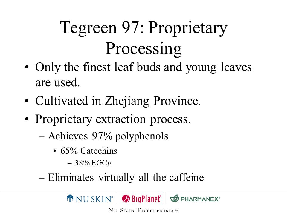 8 glasses of grape juice 3 glasses of red wine 7 cups of green tea 4 glasses of iced tea Based on EGCg levels Tegreen 97: In vitro DNA protection study (Kansas University)