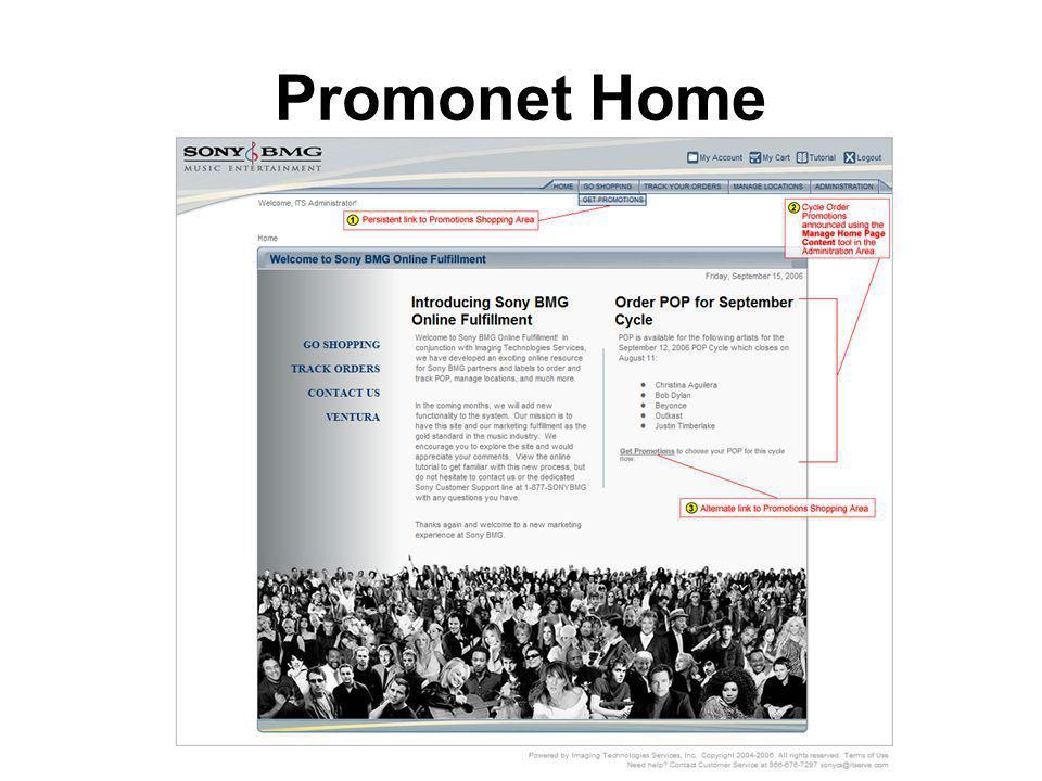 Promonet Home