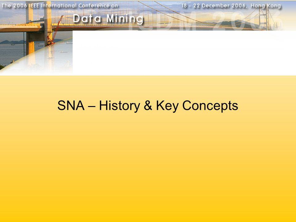 SNA – History & Key Concepts