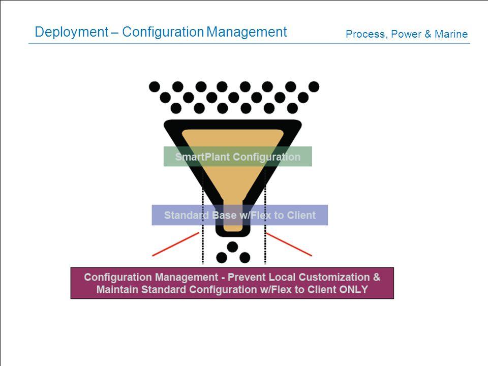 Deployment – Configuration Management Process, Power & Marine