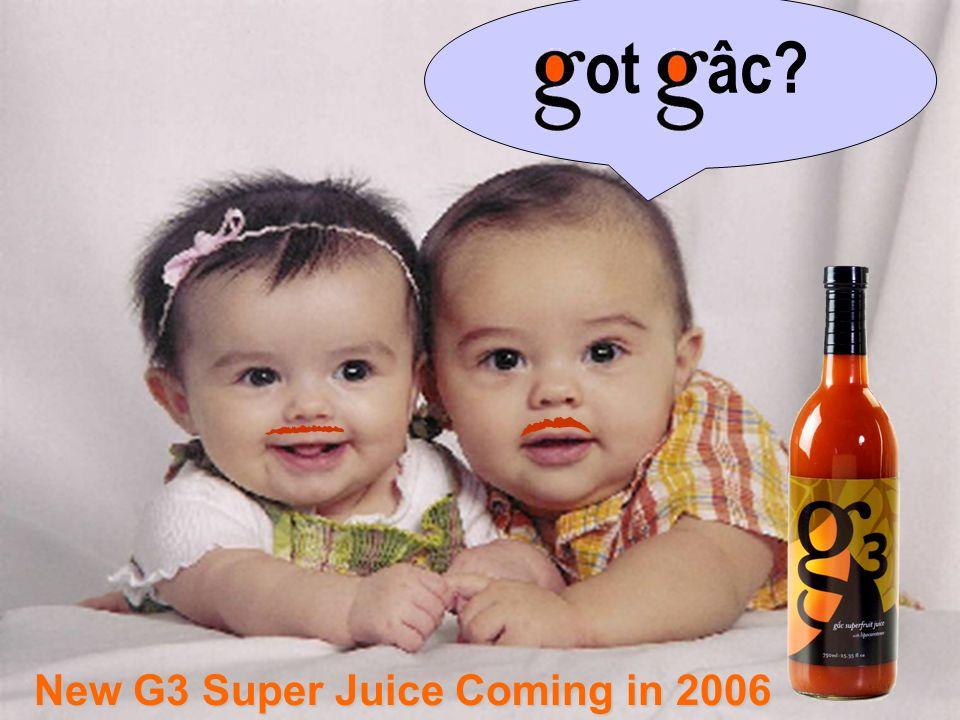 66 ot âc? New G3 Super Juice Coming in 2006