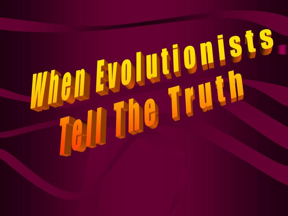 Evolution…or De-volution, which is it?
