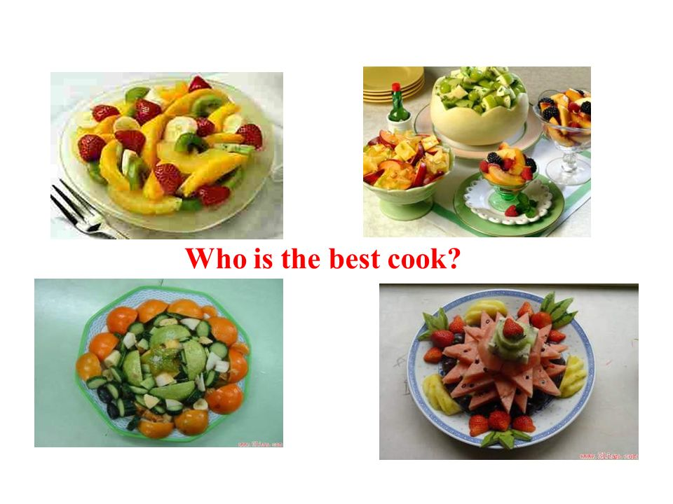 Finally, lets make our fruit salad. Share your fruit salad with teachers and your classmates.