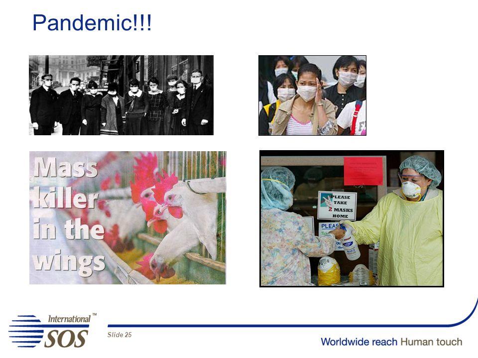 Slide 25 Pandemic!!!