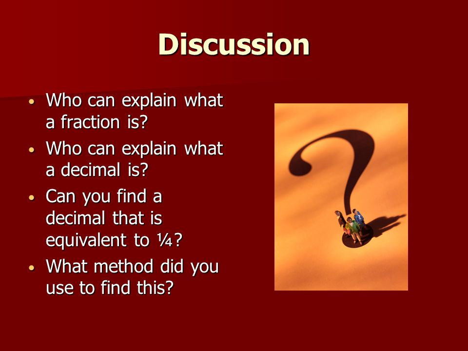 Converting Fractions to Decimals Lesson 5.2 AMSTI 2006