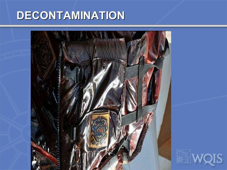 DECONTAMINATION SITE