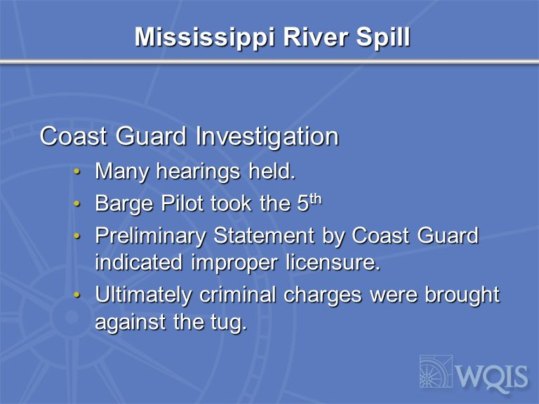 Mississippi River Spill Public Commentary (NOLA.COM) Was Joseph Hazlewood piloting the tanker.