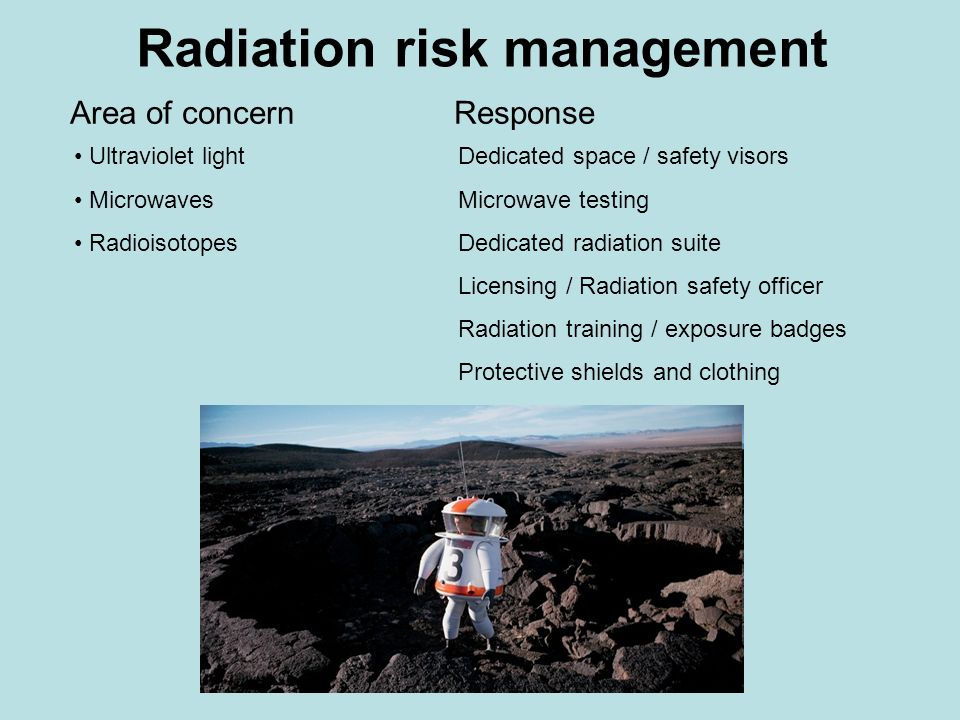 Long Term: Reduce and Replace Significant decline in the use of radioactive materials.