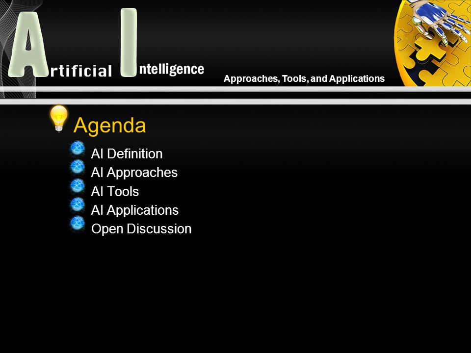 Approaches, Tools, and Applications Intelligent Agent In artificial intelligence, an intelligent agent (IA) is an autonomous entity which observes and acts upon an environment (i.e.