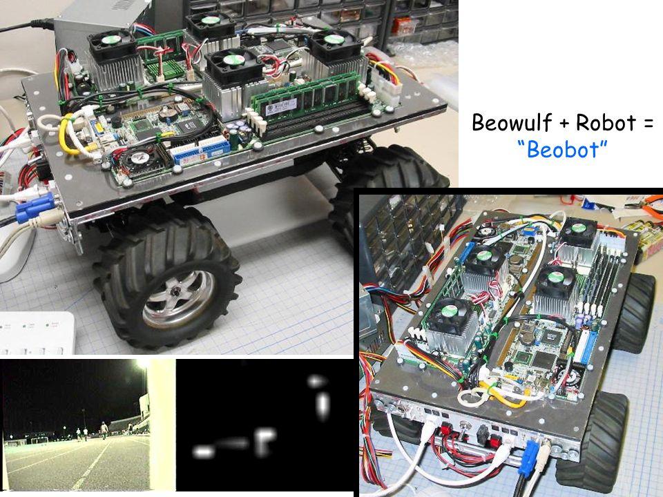 39 Beowulf + Robot = Beobot