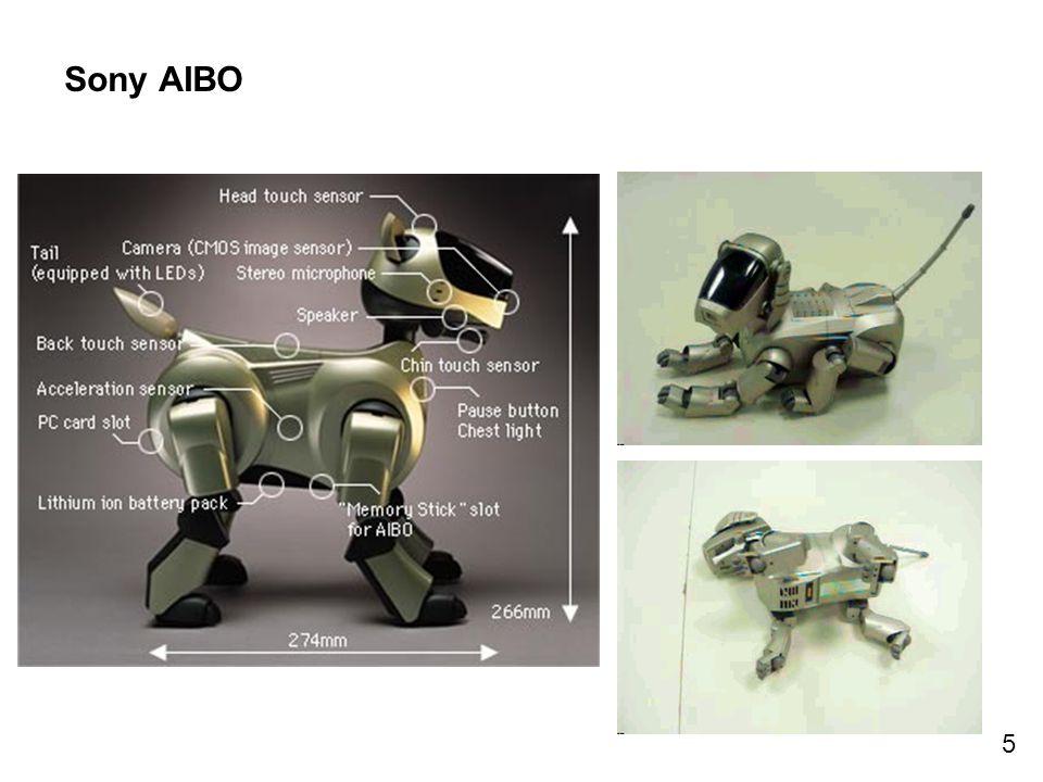 5 Sony AIBO