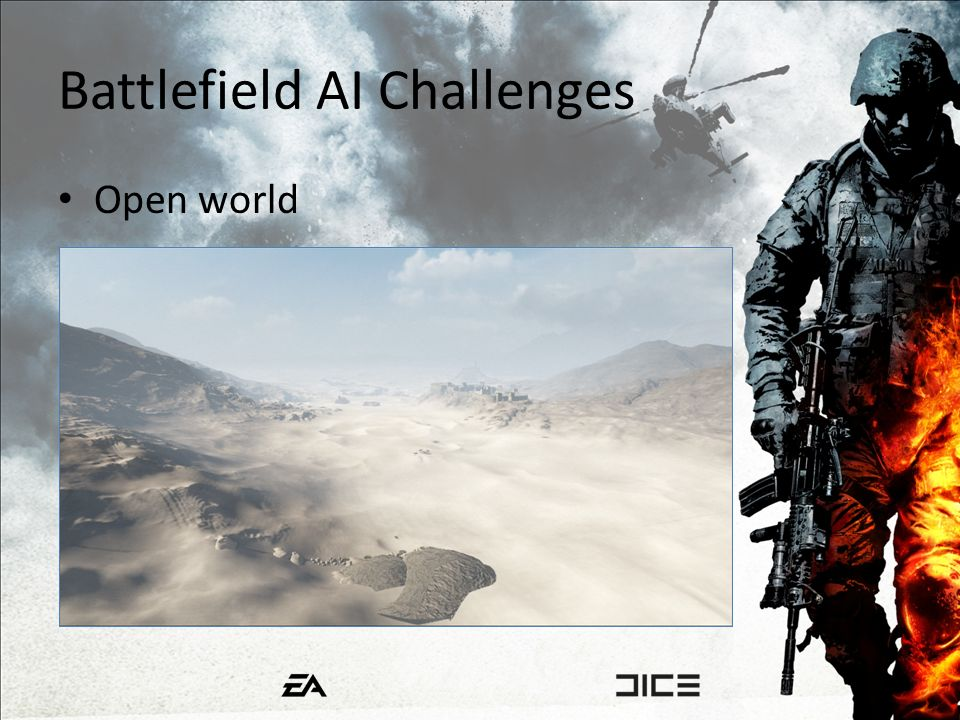 Battlefield AI Challenges Open world