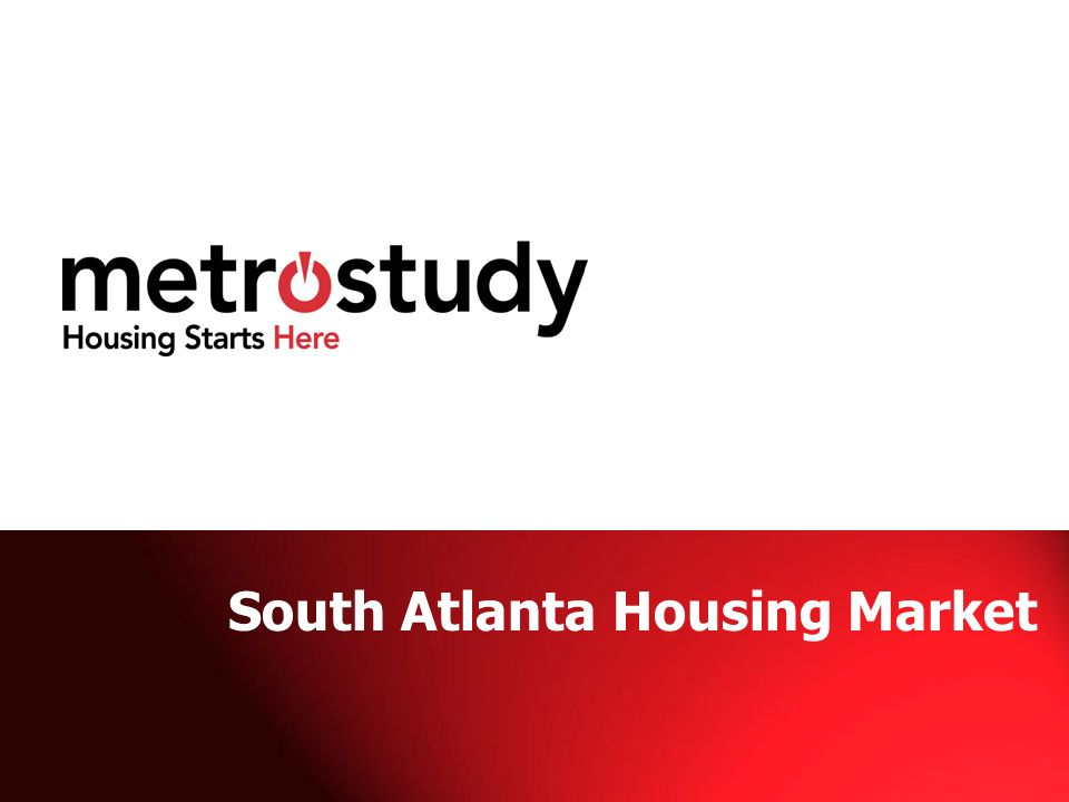 South Atlanta Housing Market