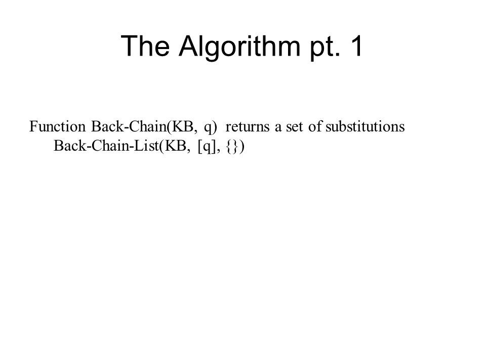 The Algorithm pt.