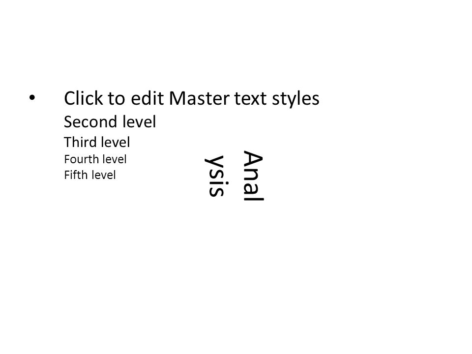 Click to edit Master text styles Second level Third level Fourth level Fifth level Anal ysis Elements of winning: – Build Order – Information Gathering – Macro – Micro