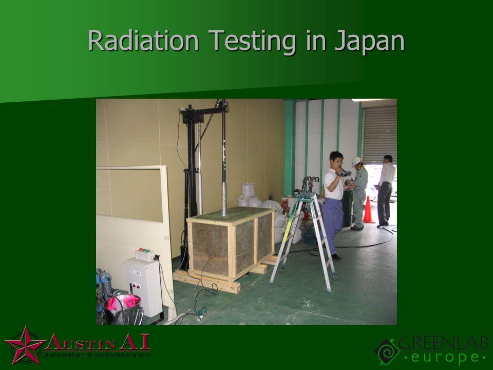 Radiation Testing in Japan