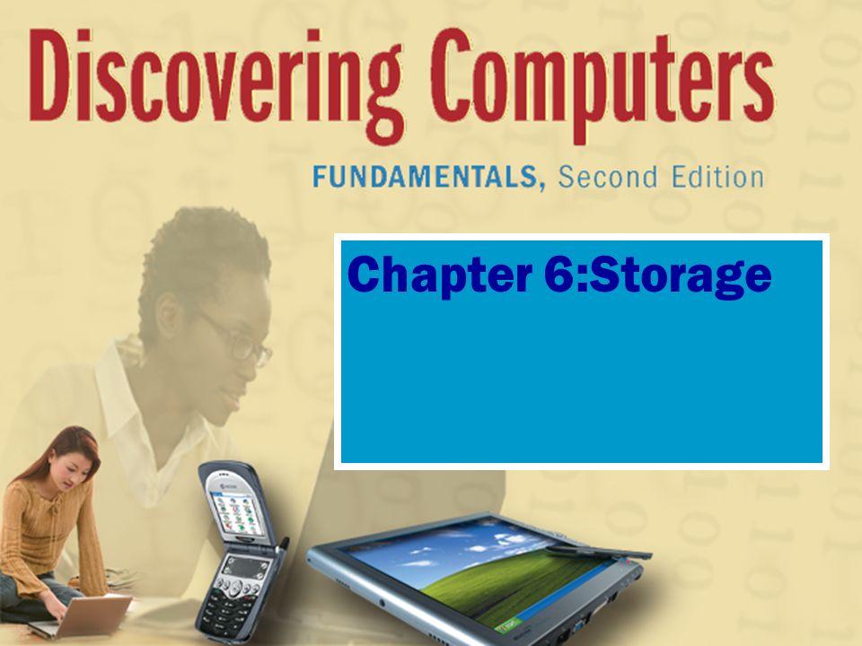 Chapter 6:Storage