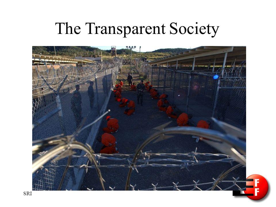 SRI The Transparent Society