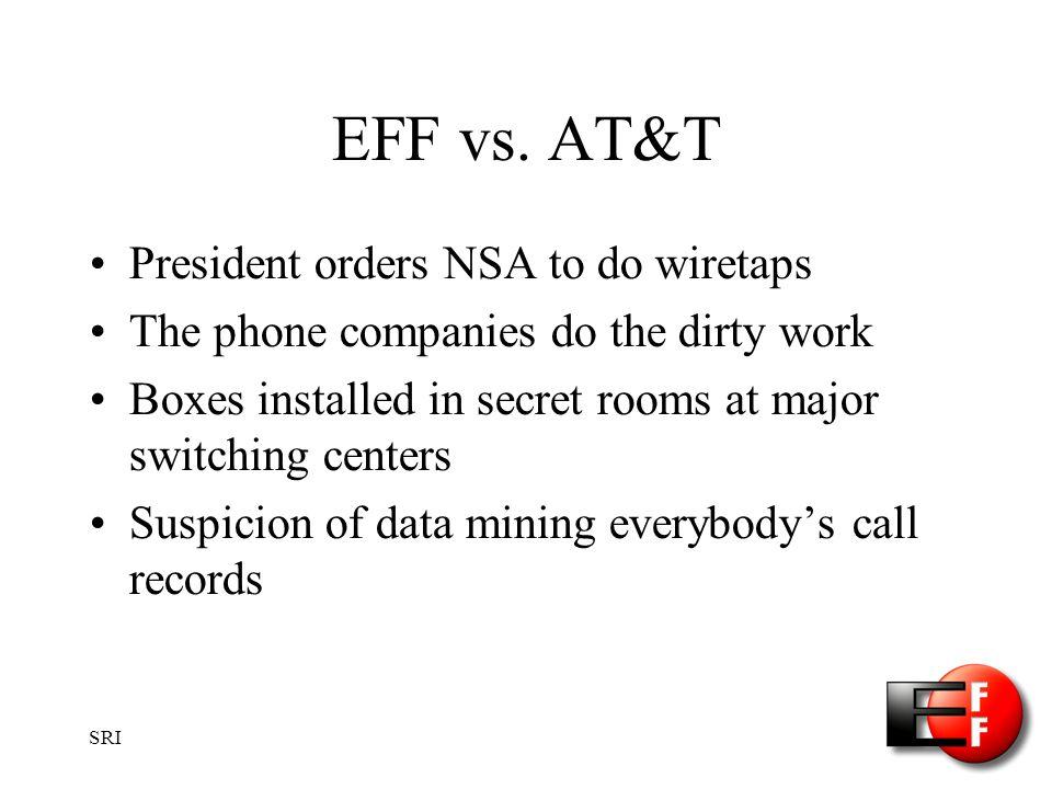 SRI EFF vs.