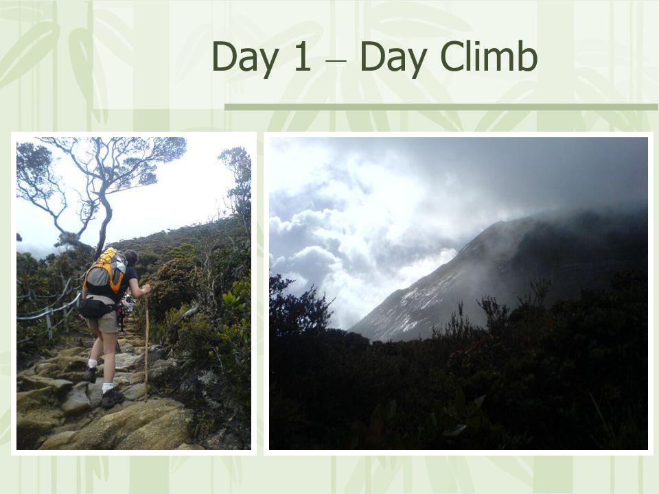 Day 1 – Day Climb