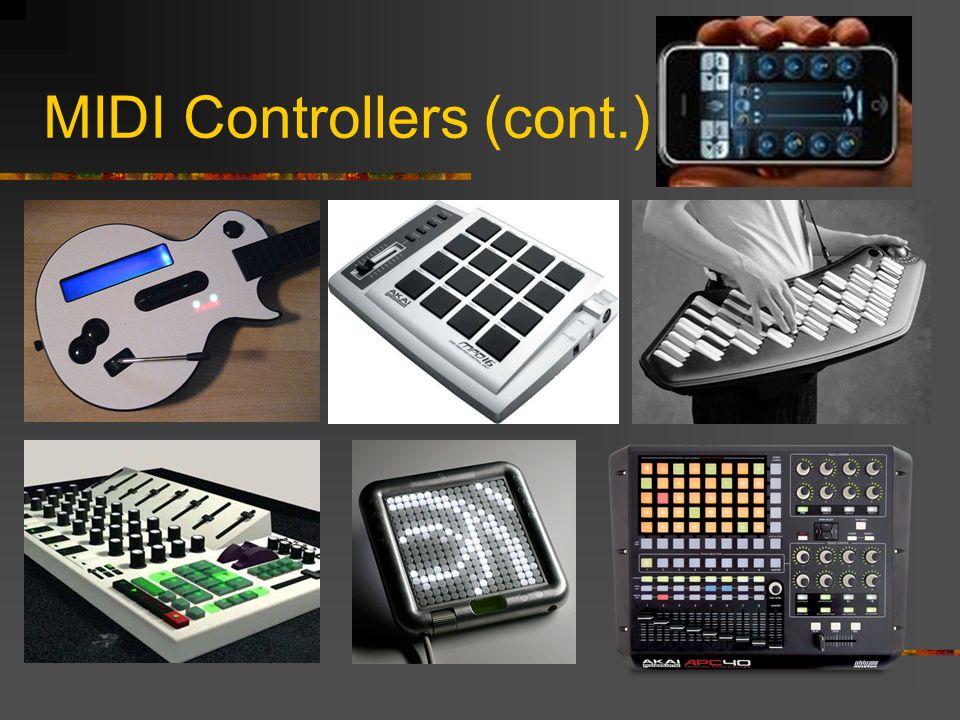 MIDI Controllers (cont.)
