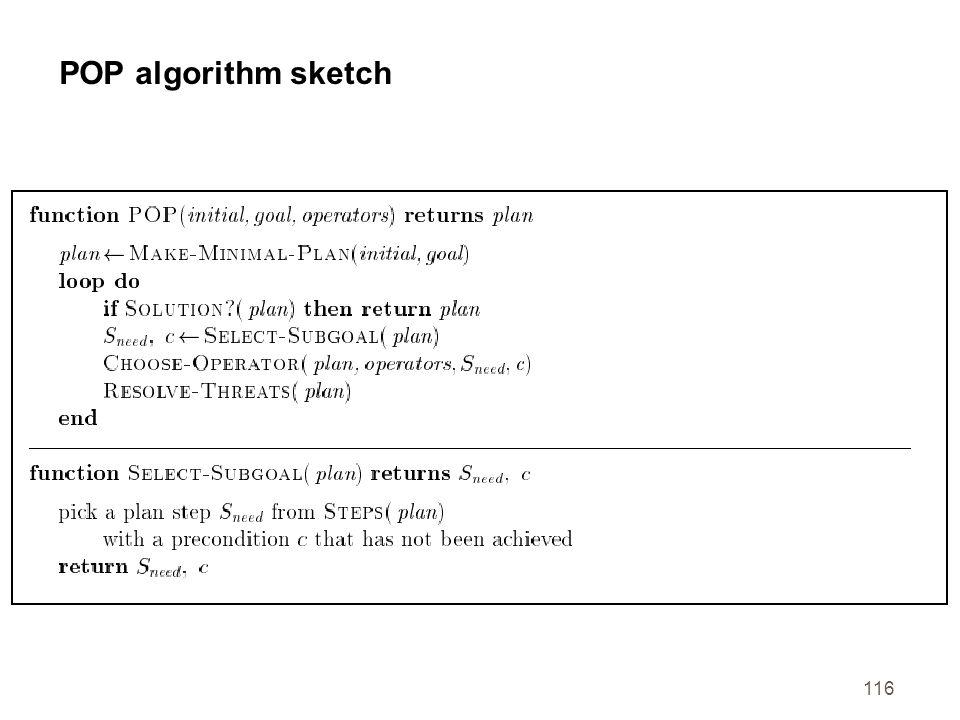 116 POP algorithm sketch