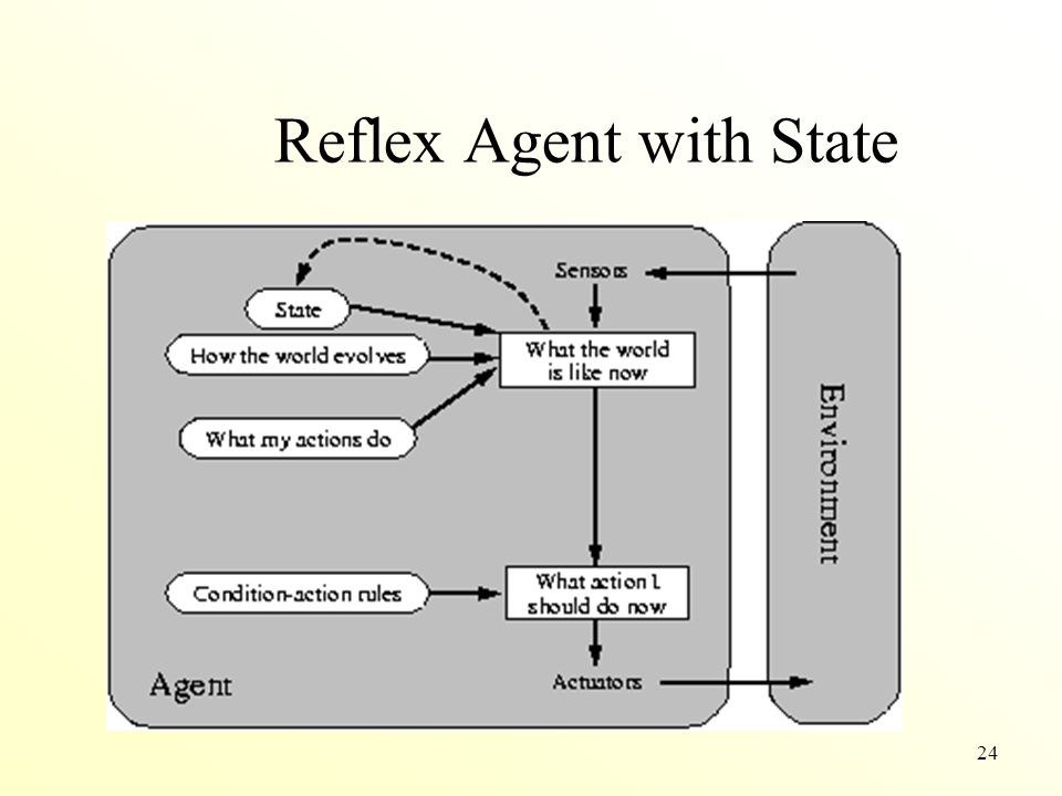 24 Reflex Agent with State