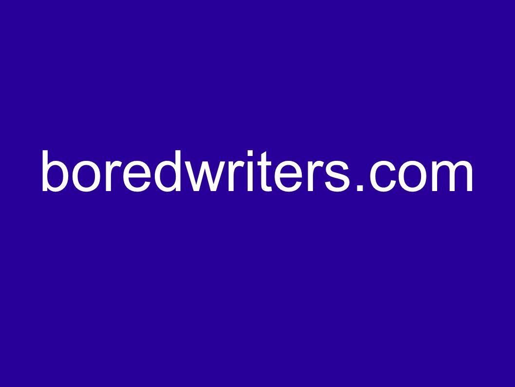boredwriters.com