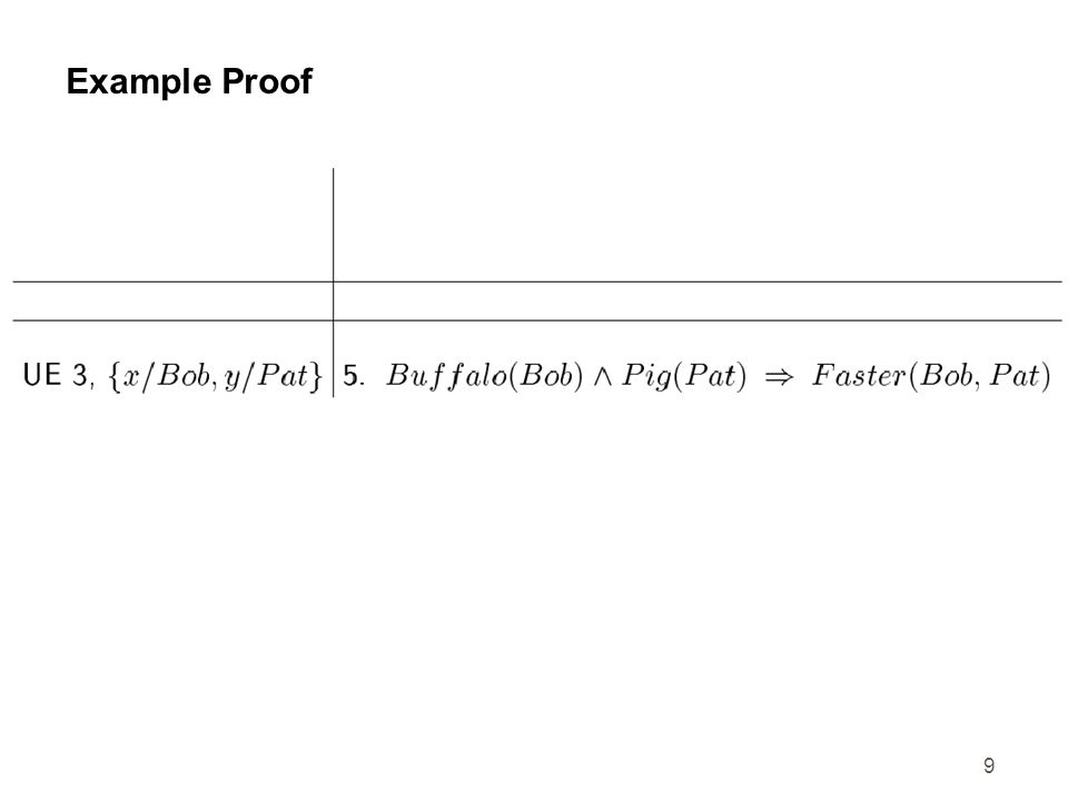 10 Example Proof