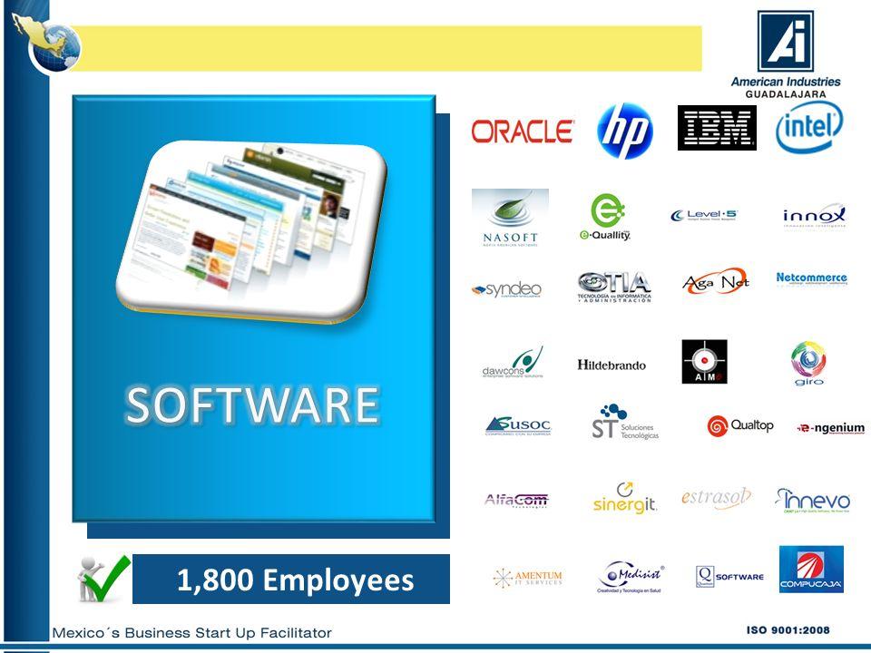 1,800 Employees