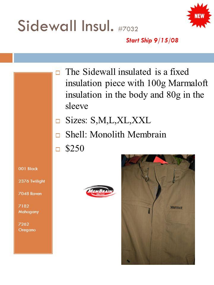 Sidewall Insul.