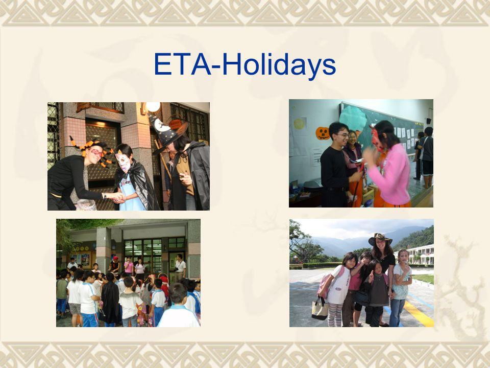 ETA-Holidays