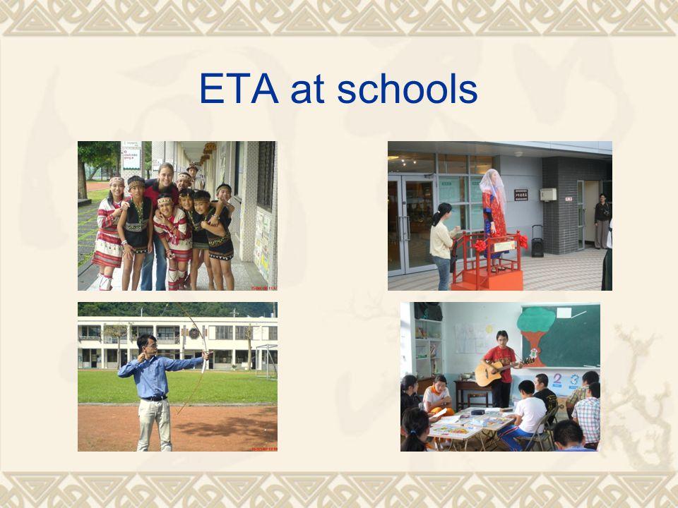 ETA at schools