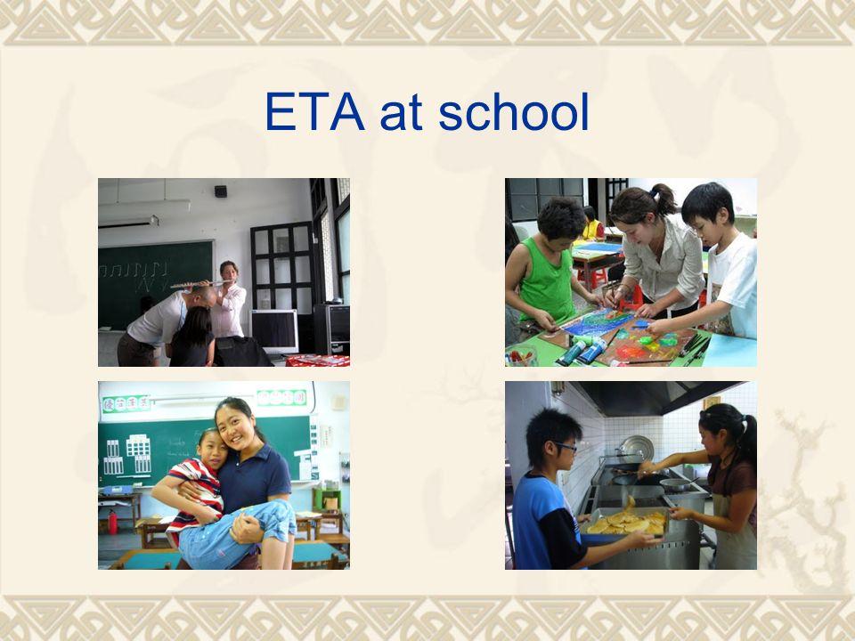ETA at school