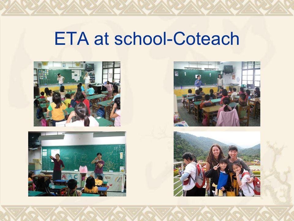 ETA at school-Coteach