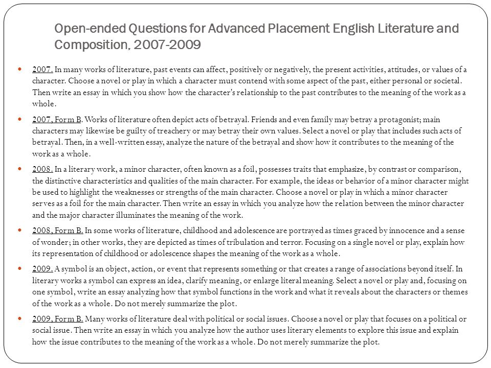 childrens literature essay questions Children literature children literature is defined, though there are several definitions in the literature, as now is recognized as an important field of study, both in itself and for the insights it yields into literature as a whole ' as well as into the family life, society and thinking of any given period, and the minds of the many major authors influenced by it (johan,2012.
