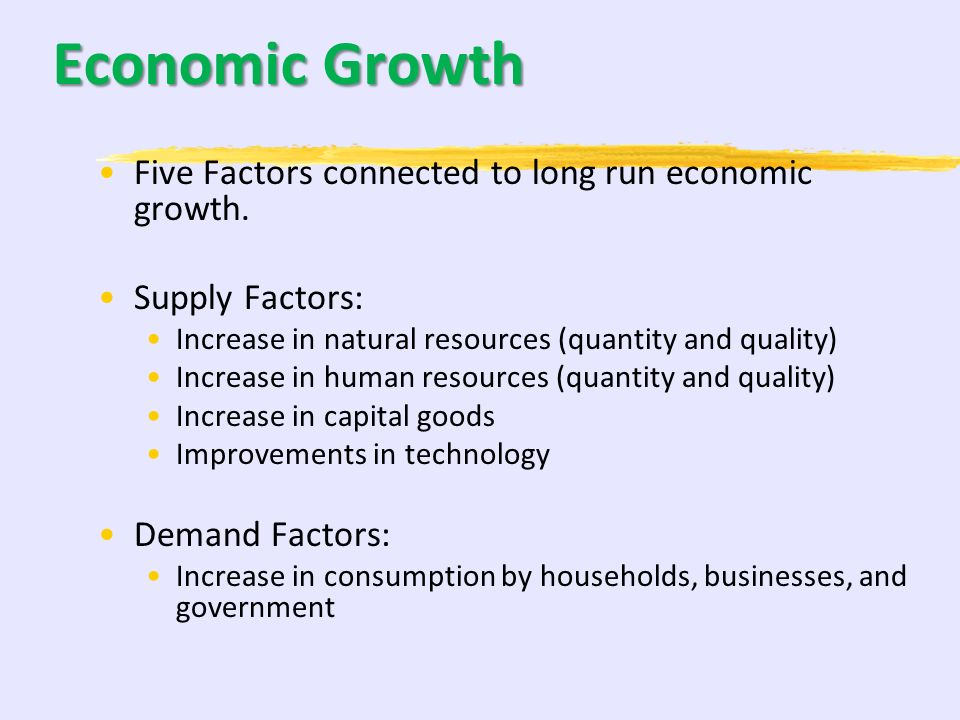 105 5-10% Economic Growth and Productivity A. Investment in Human Capital B. Investment in Physical Capital C. Research and development, and technolog