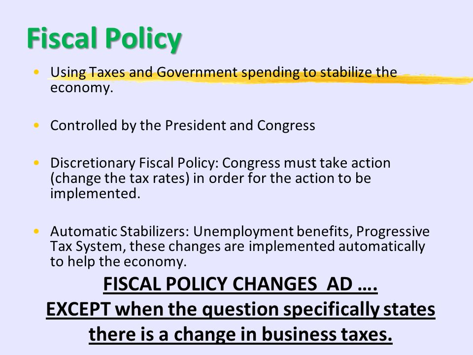 73 20-30% Inflation, Unemployment, and Stabilization Policies A. Fiscal and monetary policies 1. Demand-side effects 2. Supply-side effects 3. Policy