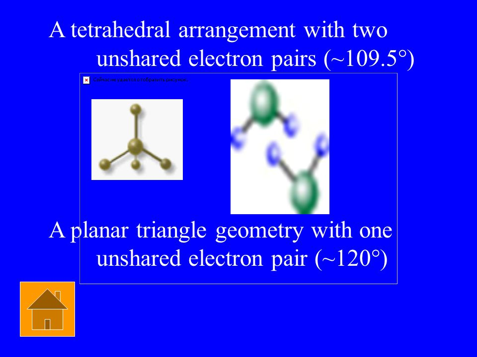 Chem Bond $800 What are the two ways for a molecule to have a bent geometry?