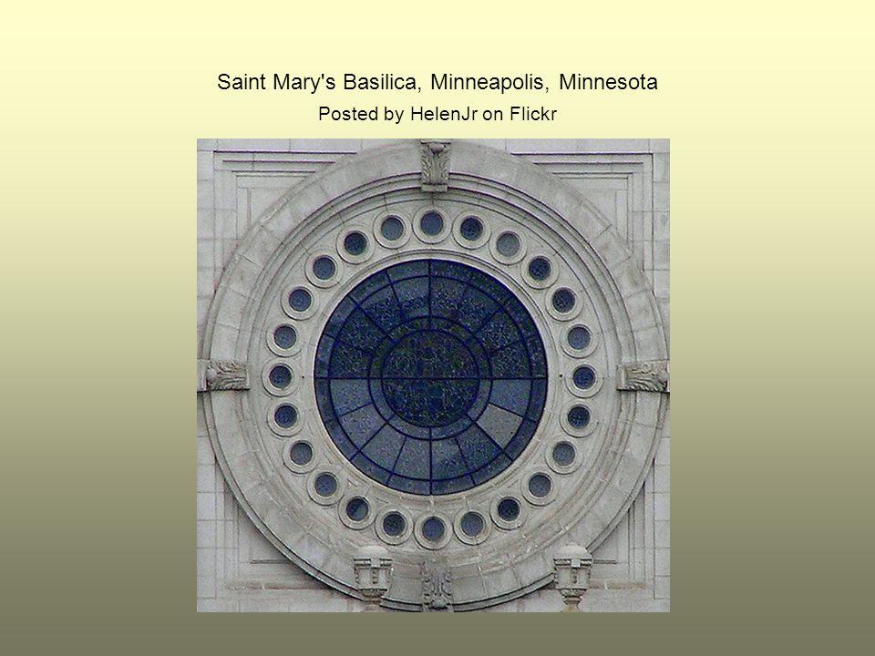 Saint Mary's Basilica, Minneapolis, Minnesota Posted by HelenJr on Flickr