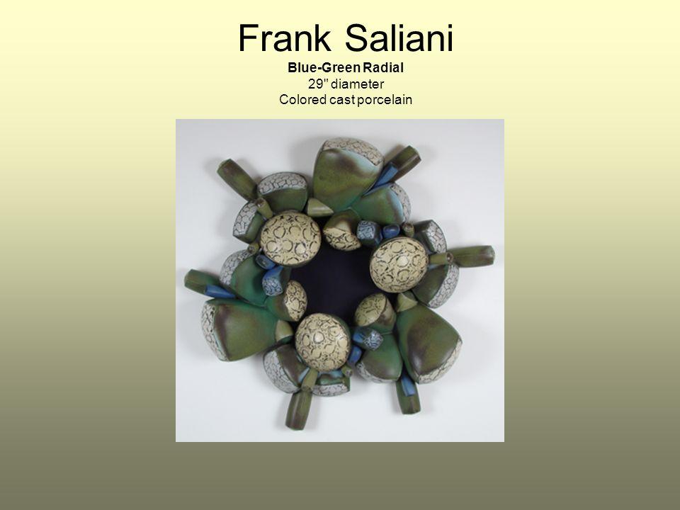 Frank Saliani Blue-Green Radial 29